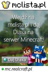 Duży baner serwera Wersja: 1.17.1 IP: mc.realcraft.pl